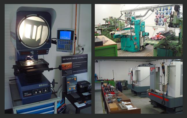 Kovoobrábění, CNC frézování, tvarové broušení měkkých i kalených dílů