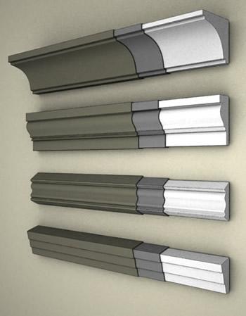 Fasádní dekorativní profily z pěnového polystyrenu - výroba