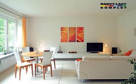 Interiérové malířské omyvatelné barvy - stěny bez skvrn a šmouh