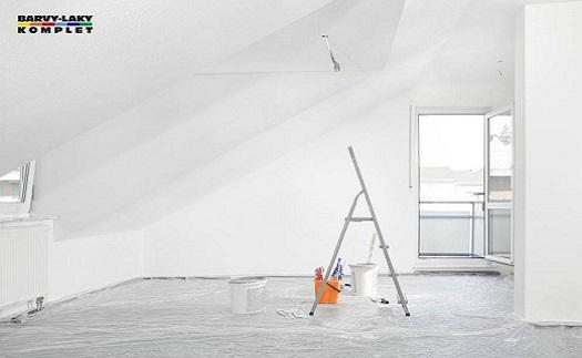 Interiérové malířské omyvatelné barvy Opava