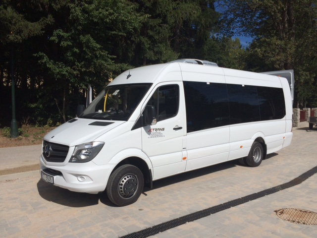 Pronájem prostorného mikrobusu i s řidičem Ostrava
