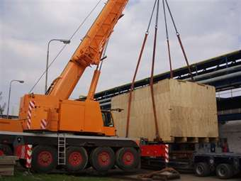 Doprava nadrozměrných těžkých nákladů