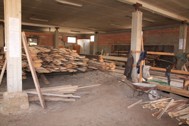 stavební řezivo z pily