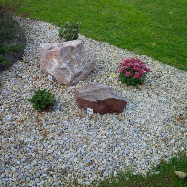 Solitérní okrasné kameny na zahradu Opava