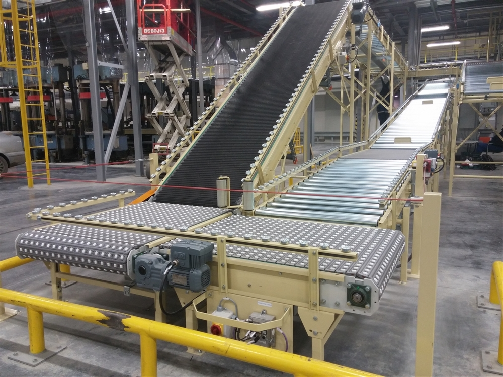 Výroba dopravníkových systémů a jednoúčelových strojů