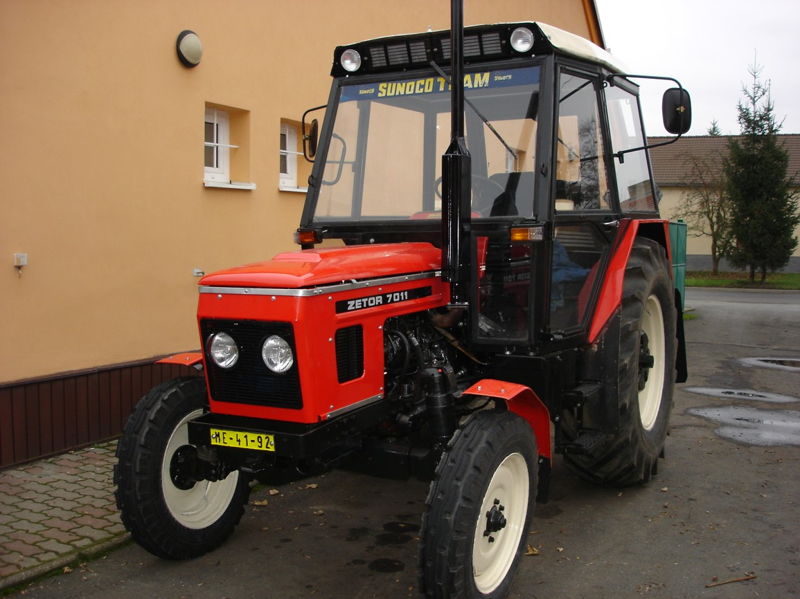 Renovace traktory Zetor, Praha, Kutná Hora