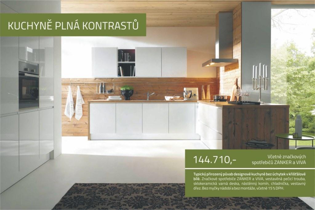 Designové kuchyně bez designových cen - dodávka a montáž kuchyňské linky i kvalitního vnitřního vybavení