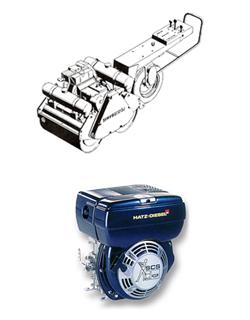 Servis vibrační desky a pěchy (žaby), elektrocentrály, diamantové nástroje
