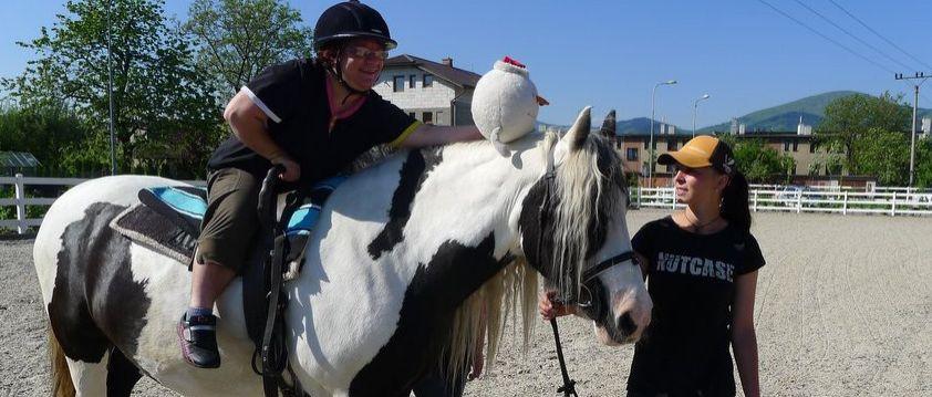 Hiporehabilitace se vším všudy - rehabilitační péče prostřednictvím koně, pro osoby se specifickými potřebami