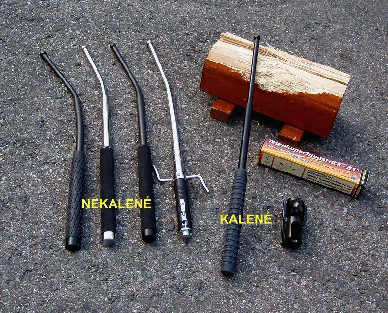 Metal telescopic batons - production and sale, the Czech Republic