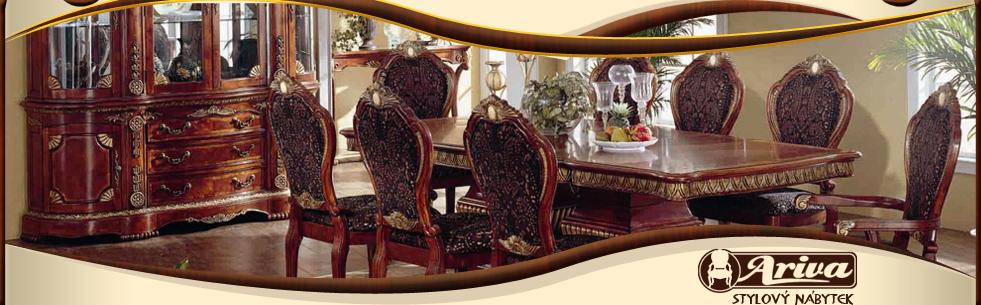 Ručně vyřezávaný nábytek, repliky starožitného nábytku Šumperk