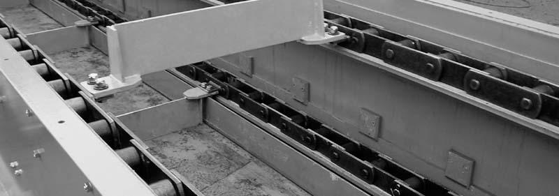 Výroba dopravníky pásové válečkové řetězové korečkové šnekové