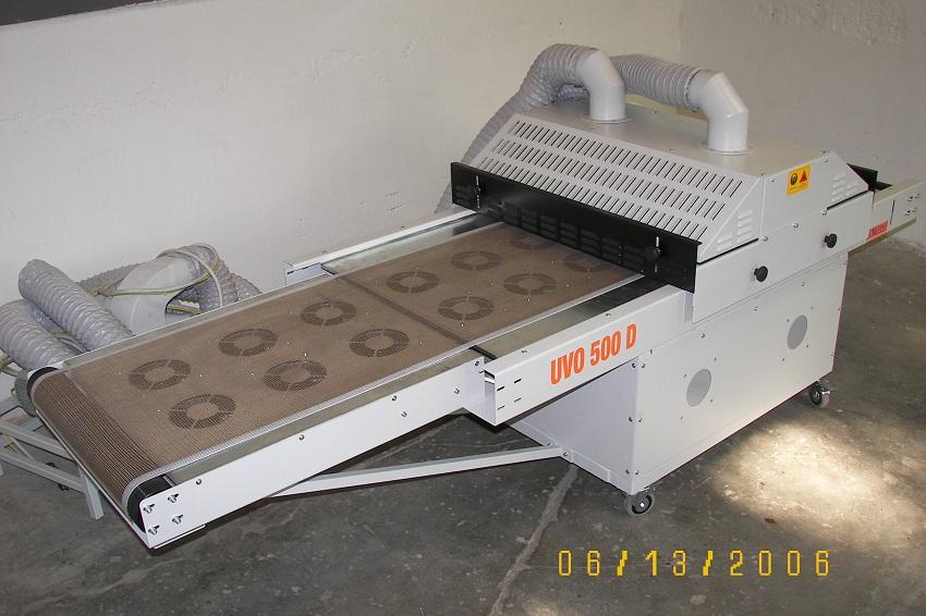 Výroba UV tunely