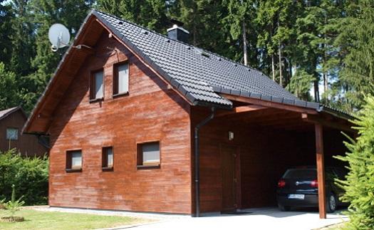 Rychlá výstavba ekonomických dřevostaveb na klíč, moderní vzhled