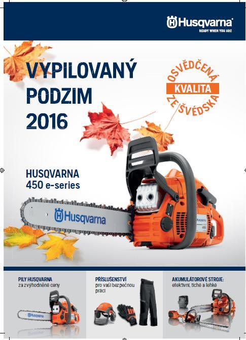 Podzimní akce na pily HUSQVARNA Znojmo, Miroslav