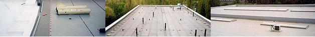 Ploché střechy - Uherské Hradiště