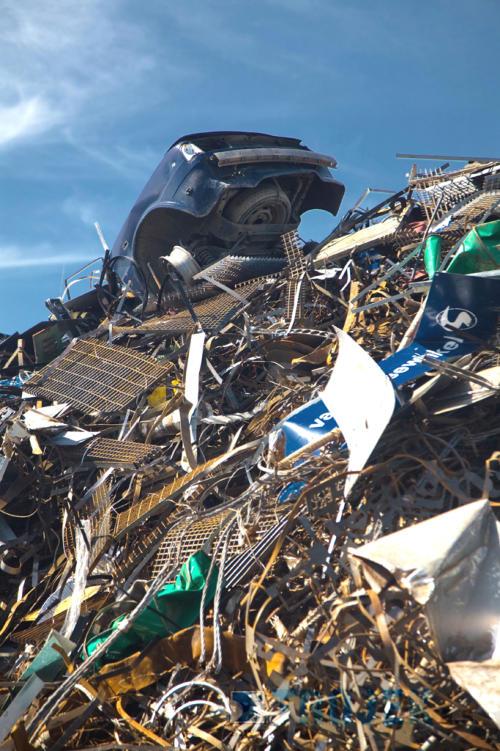 Vrakoviště - likvidace autovraků moderní technikou s ekologickým zpracováním