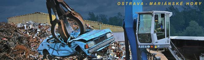 Vrakoviště - likvidace autovraků Ostrava