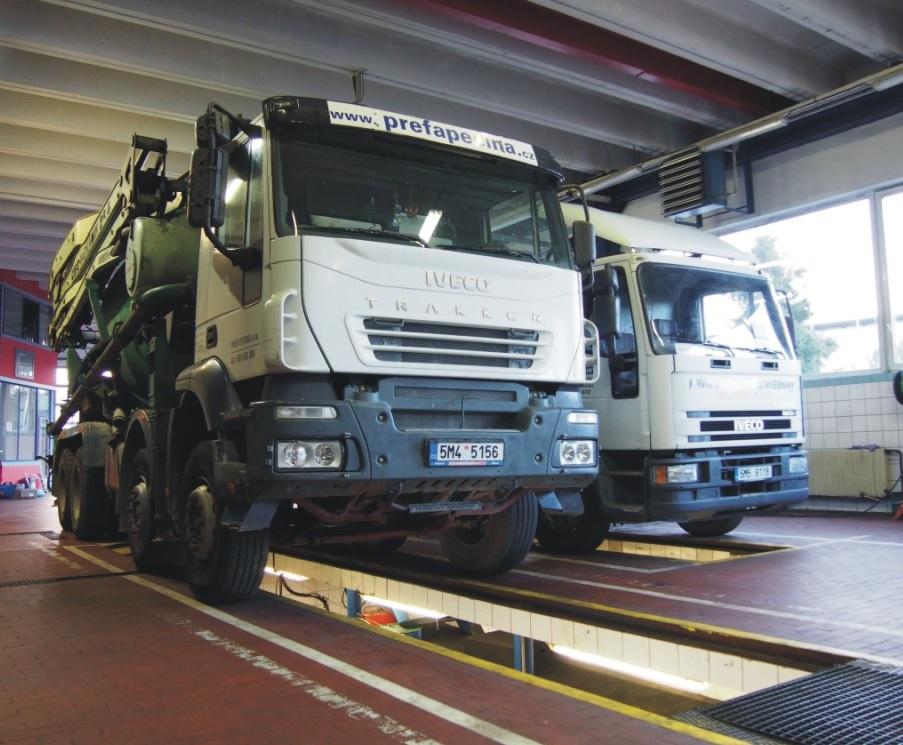 Nezávislé topení Webasto, Eberspächer pro nákladní vozidla Olomouc - opravy a montáž