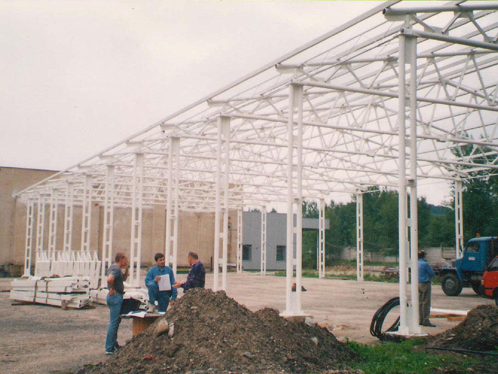Protipožární nátěry ocelových konstrukcí