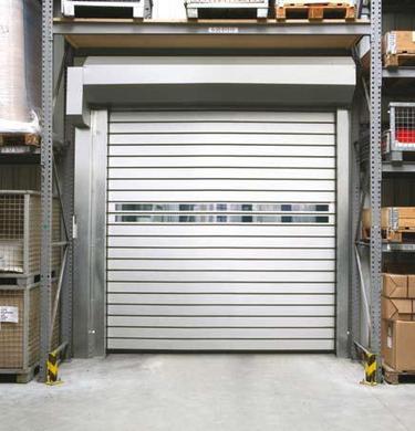 Venkovní průmyslová rychloběžná vrata prodej - vysoká četnost průjezdu materiálu
