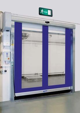 Vnitřní rychlonavíjecí vrata prodej, montáž a servis