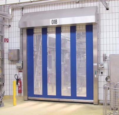 Vnitřní rychlonavíjecí vrata prodej