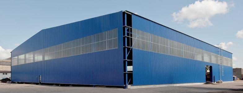 Stavba haly na klíč, montáž ocelových konstrukcí, opláštění - realizace v krátkém čase