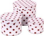 Krabice na klobouky, kulaté krabice s mašlí Přerov