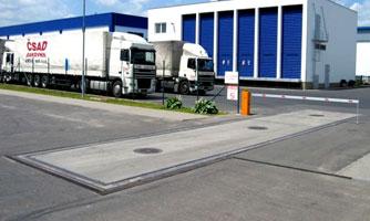 Konfigurace silničních vah