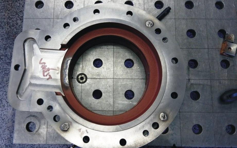 Práškové navařování, svařování litiny - opravy poškozených povrchů