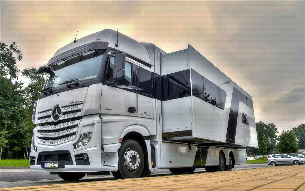 Speciální nástavby vozů pro motorkáře - motorhome, pro transport motocyklů