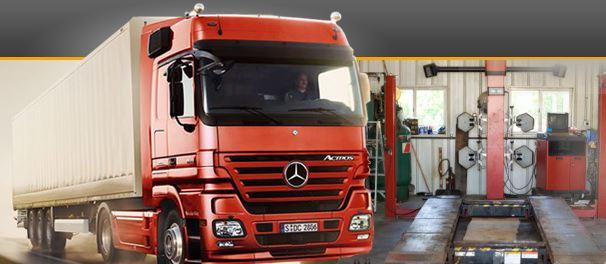 STK nákladních aut Plzeň
