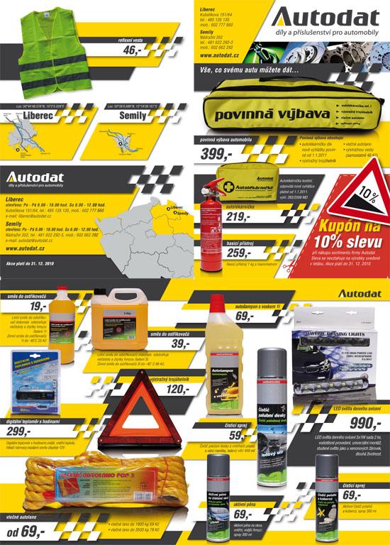 Prodej Autolékarniček 2011 dle nové vyhlášky Hradec, Liberec
