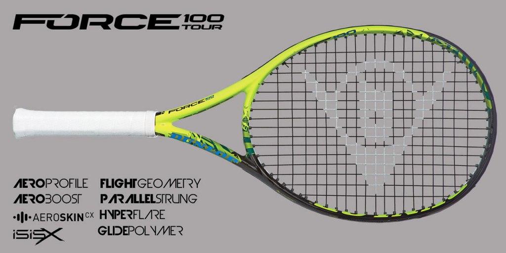 Tenisové rakety, míčky, struny, tašky a doplňky Dunlop pro tenis