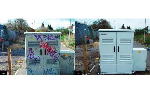 Anti graffiti systém - odstranění a ochrana povrchů proti graffiti