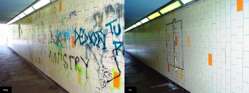 Odstranění a ochrana povrchů proti graffiti Ostrava