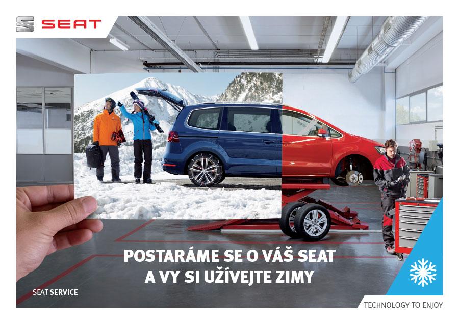 Zimní servisní akce Seat - Uherské Hradiště