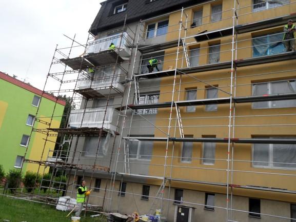 Půjčovna lešení pro firmy i soukromníky Uničov, Olomouc