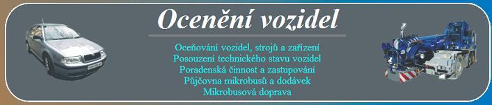 Oceňování, motorových, osobních, nákladních a speciálních vozidel Brno