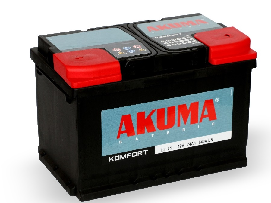 Autobaterie, akumulátory Stabat, Akuma, Fiamm, Varta, motobaterie