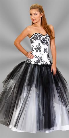 Plesové šaty - půjčovna Kladno