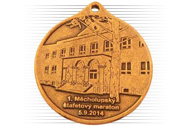 Výroba medailí na zakázku ve Strakonicích