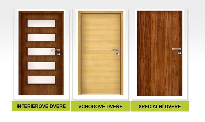 Bezpečnostní, protipožární, protihlukové, klima dveře nebo dveře HPL