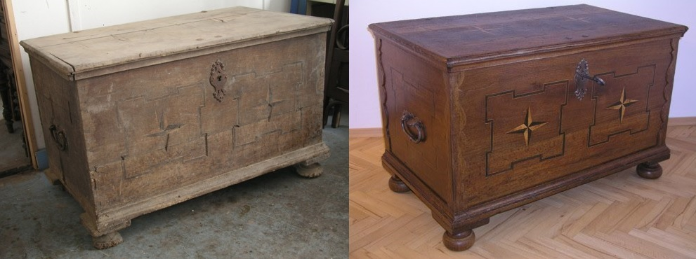 Profesionální renovace starého nábytku Přerov, Olomouc