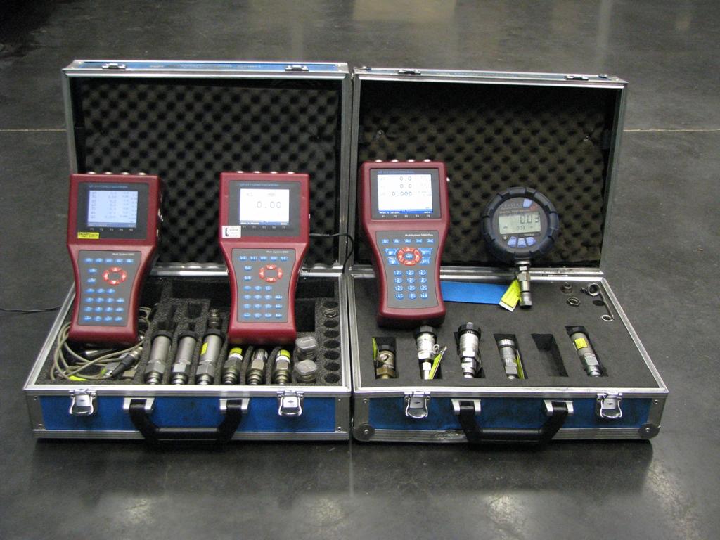 Aparatury pro statická i dynamická měření tlaku