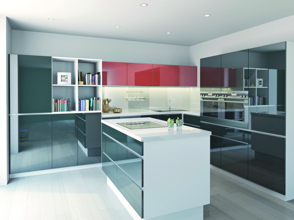 Acrylmöbel, Küchentüren T.acrylic im neuen Design, Tschechien