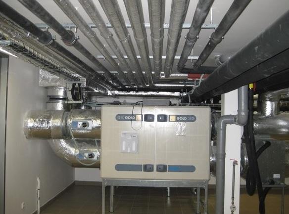 Rekonstrukce kotelen, výměníkových stanic a systémů vytápění
