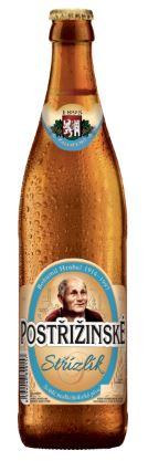 Postřižinské pivo Nymburk