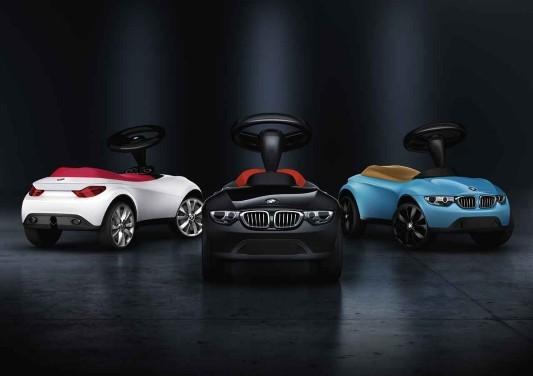 výrobek ze vstřikovacích forem firmy Frema - Baby Racer BMW